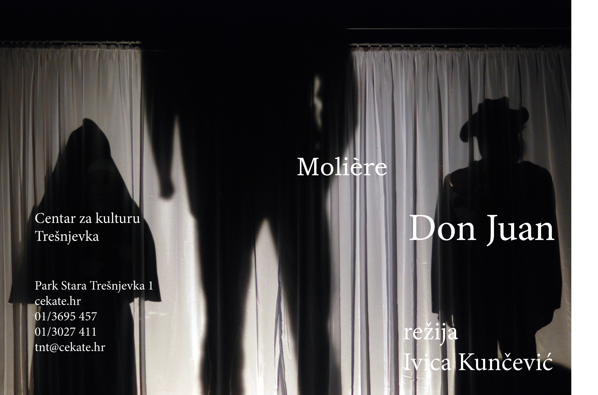 PREMIJERA / Molière: Don Juan / režija Ivica Kunčević / 20:00 / 23. 11. / reprize 30. 11. / 2. i 11. 12