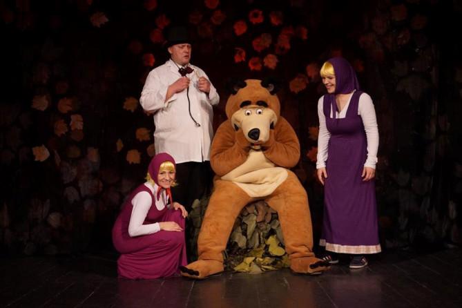 """Ponovo u CeKaTeu hit predstava za djecu """"Maša i medvjed"""""""