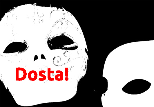 Premijera bilingvalnog performansa 'Dosta!' u Centru za kulturu Trešnjevka