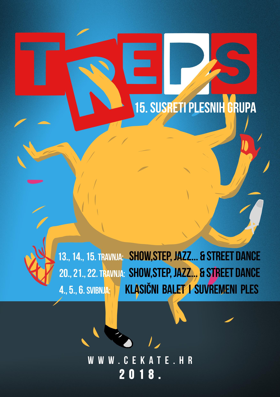 TREPS 2018.: 15. Susreti plesnih grupa