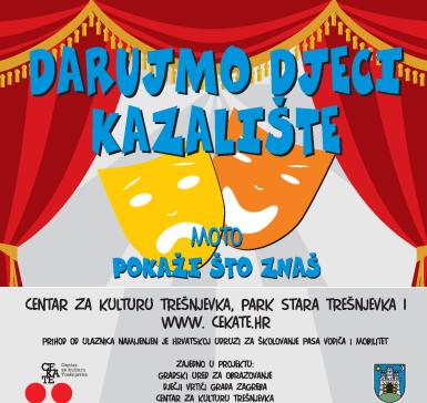 DARUJMO DJECI KAZALIŠTE 22.12. / 10:00 DV Vjeverica