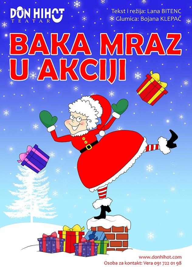 Baka Mraz u akciji_PLAKAT