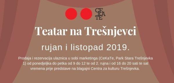 CeKaTe Teatar – raspored predstava
